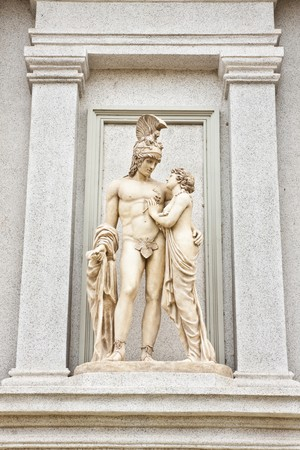 Statue, Sculpture, Michelangelo Stock Photo