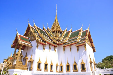 Sanctuary in Grand palace, the major tourism attraction in Bangkok, Thailand