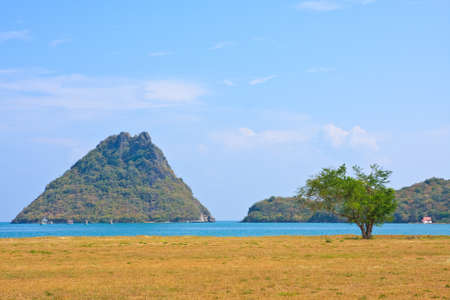 The Beauiful Sea scape and Alone Island, Thailand