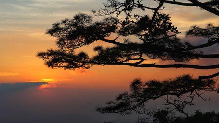 Sunset view, Phu soi dao national park, Thailand