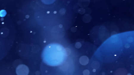 Abstract Dust Particles Background. Bokeh Particles Background.