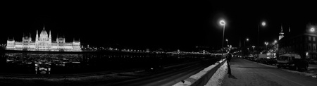 Budapest panorama Stock Photo