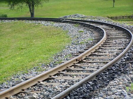 Train Tracks Narrow Gauge