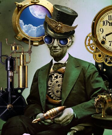 abe: Steampunk Lincoln