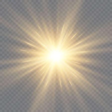 Star burst with sparkles. 向量圖像
