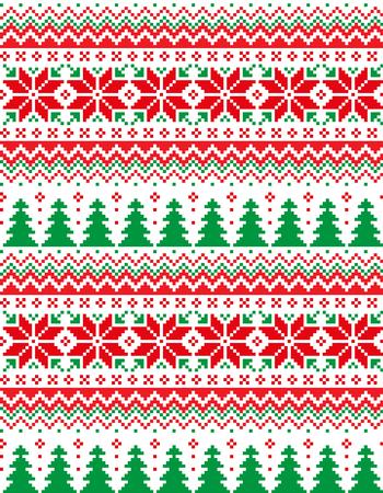 Pixel de modèle de Noël du Nouvel An pour imprimer