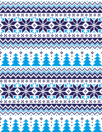 New Year's Christmas pattern pixel for print
