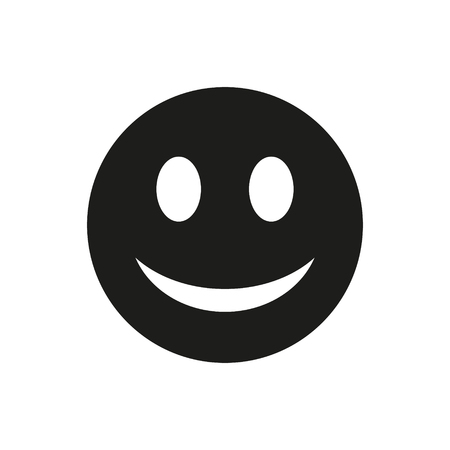Vector smileys illustrations of emotion possible for printing