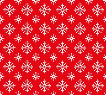 Snowflakes pattern. Vectores