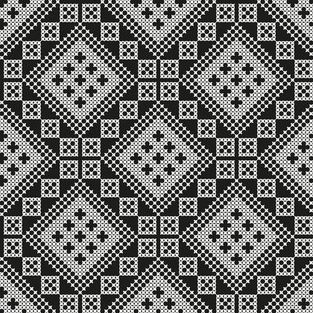 seamless embroidered national Ukraine ornament vector EPS Vettoriali