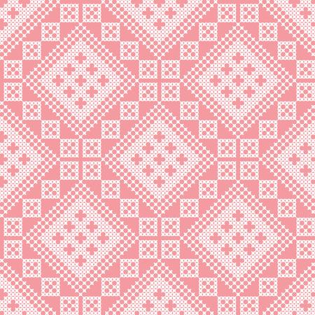 seamless embroidered national Ukraine ornament vector EPS Illustration
