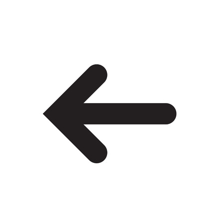 Undo Arrow Icon, Redo Arrow Icon. Direction arrow sign. Motion icon. Arrow button. Stock Illustratie