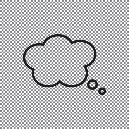 vector icon Speech Bubbles on a transparent background