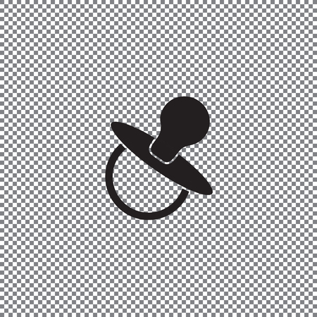 icon baby soother on a transparent background