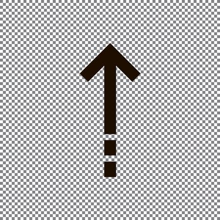 Undo Arrow Icon, Redo Arrow Icon. Direction arrow sign. Motion icon. Arrow button.