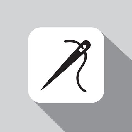 Aiguille d'icône de vecteur