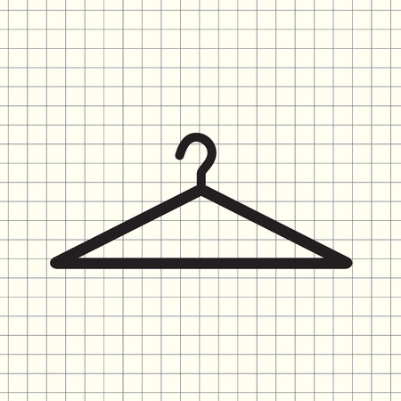 Vector icon hanger Illustration