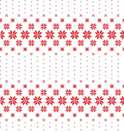 New Years Christmas pattern pixel