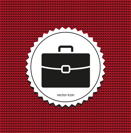 vector icon briefcase Vecteurs