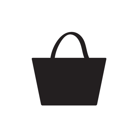 Handbag vector icon
