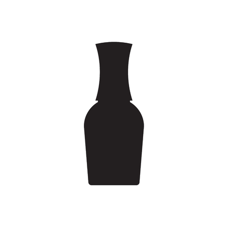 Shampoo and Bath Lotion Bottles. Set of Black Icons.Different types of shampoo bottles. Smartly grouped.