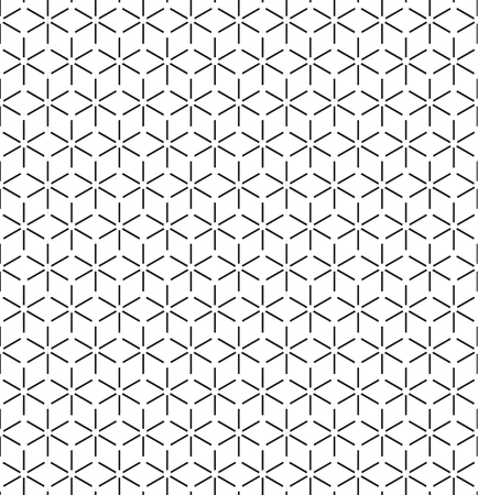 Geometric seamless pattern. Simple regular background. Vector illustration with herringbone or puzzle