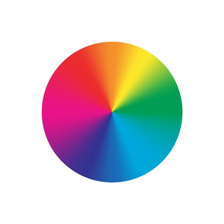 Round cone metal gradients set. Vector illustration for designer. Mesh grid. Gold Silver Bronze Nickel Patina and Rainbow Illustration