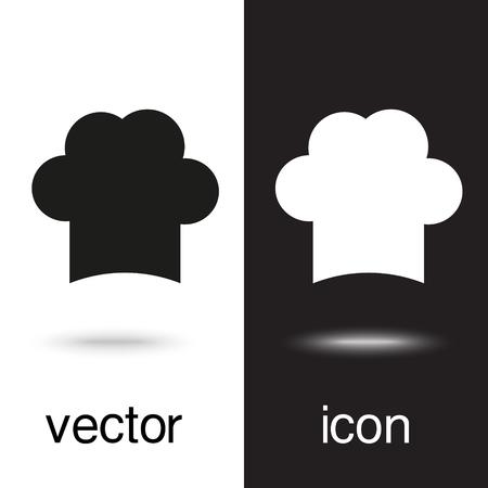 vector icon chef cap