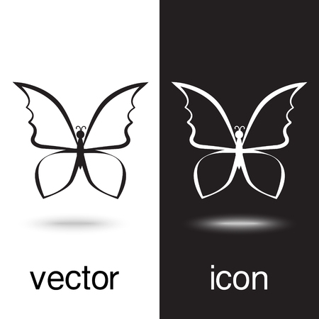 Row of binders vector icon on black and white background