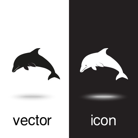 Vector icon cardiogram on black and white background Illustration