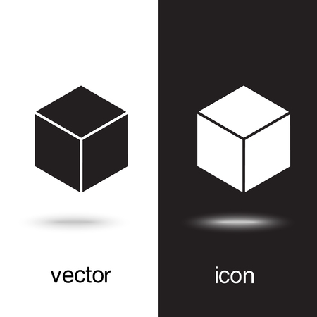Vector icon keys on black and white background Illustration