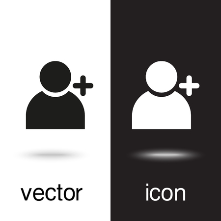 vector icon add people