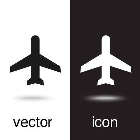 vector icon airplane