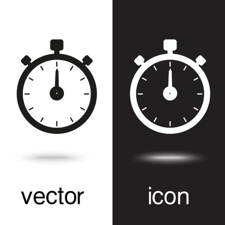 Vector icon stopwatch