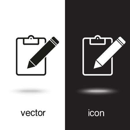 vector icon document Ilustração