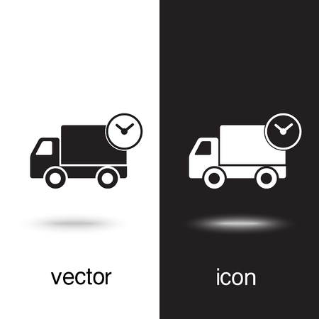 Vector icon fast delivery
