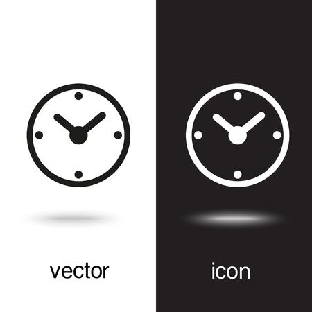 Vector clock icon Stock Vector - 124971055