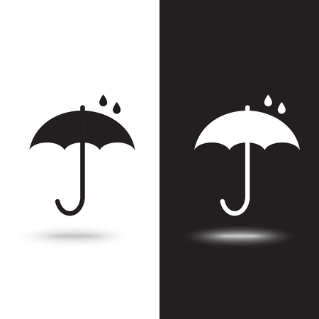 Vector icon umbrella