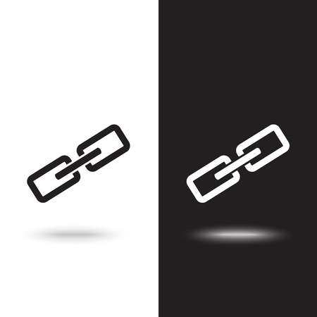 Vector icon chain Ilustração
