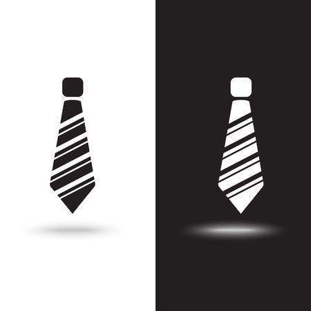 Vector icon tie Ilustração
