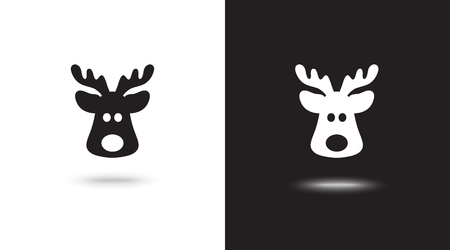 icon christmas deer