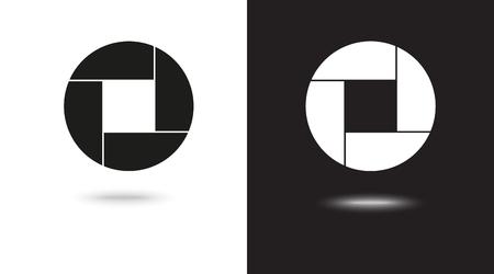 Aperture, camera lens symbol Archivio Fotografico - 124897323