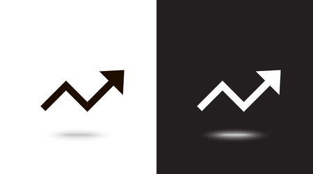 Undo Arrow Icon, Motion icon. Back arrow icon. Arrow button. Archivio Fotografico - 124897329