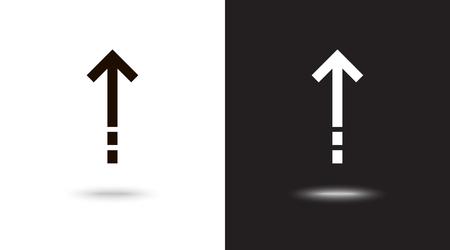 Undo Arrow Icon, Motion icon. Back arrow icon. Arrow button. Archivio Fotografico - 124897330