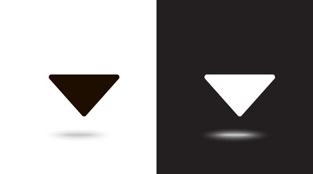 Undo Arrow Icon, Motion icon. Back arrow icon. Arrow button. Archivio Fotografico - 124897335