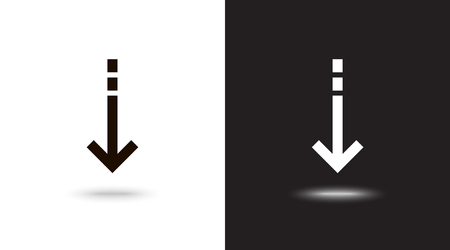 Undo Arrow Icon, Motion icon. Back arrow icon. Arrow button. Archivio Fotografico - 124899708