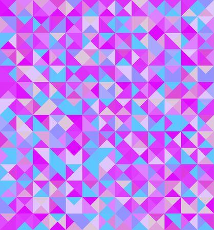 Vector color pattern. Geometric background Ilustração