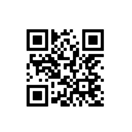 qr code for smart phone vector