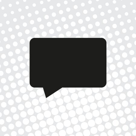 vector icon of chat, message Ilustração