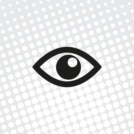 vector icon Eye